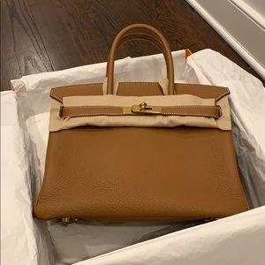 Hermès Birkin 30 gold